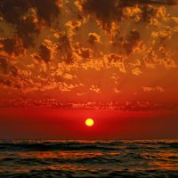 Закат на море :: Allex Anapa