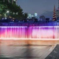 Ручей в центре Сеула. :: Евгений Подложнюк