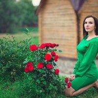 у роз :: Ольга Челышева