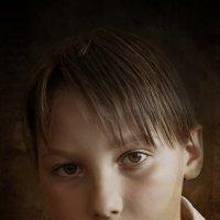 Портрет младшего сына - Михаила :: Алексадр Мякшин