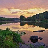 "река "" Южный Буг"".Утро. :: юрий иванов"