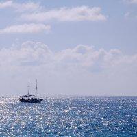 Когда море серебрится... :: Николай Ярёменко
