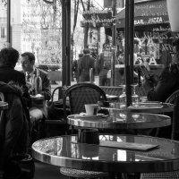 """""""Парижское кафе . 21 век"""" :: Елена Мартынова"""