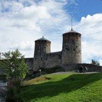 Крепость Олавинлинна :: Елена Павлова (Смолова)