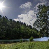 Солнце над заливом :: Анатолий Иргл