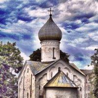 Великий Новгород. Церковь Двенадцати апостолов, XV век :: Вячеслав Губочкин