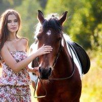 ☼ Настя и лошадка ☼ :: Alex Lipchansky