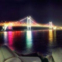 Бриллиантовый мост Южная Корея г.Пусан :: Евгений Подложнюк