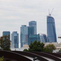 Монстры над городом встали. Москва-сити :: Николай Ефремов