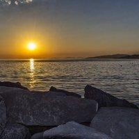 Закат на морем :: Андрей Дворников