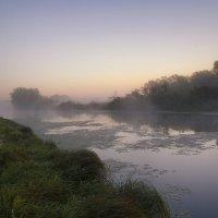Рассвет на реке :: Сергей Михайлович