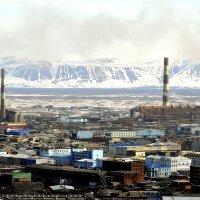 Норильск с высоты :: Витас Бенета