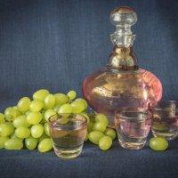 Этюд с виноградом(вариант) :: Aнна Зарубина