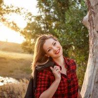 Девушка на закате :: Алена