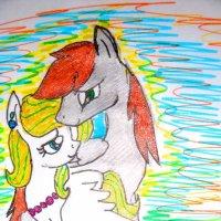 Рисунок внучки (12 лет) :: Лебедев Виктор