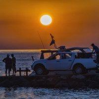 На закате :: Андрей Дворников