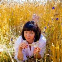 В поле. :: Юлия Верещагина