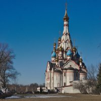 Церковь Казанской Иконы Божьей Матери в Долгопрудном. :: Rabbit Photo
