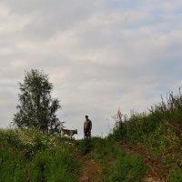 Человек и собака :: Оксана Пестова