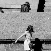 Встреча с собственной тенью.. :: Марина Павлова