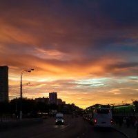 Красоты вечернего неба :: Павел Голубев