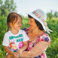 С внучкой :: Лариса Рогова