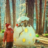В парке динозавров... :: Юлия Makarova