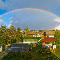 Как-то из окна стала радуга видна!) :: Den Ermakov