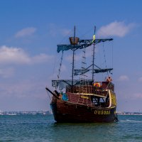 Пиратский корабль :: Алёна Цёма
