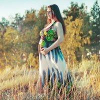 Будущая мамочка... :: Надежда Подчупова