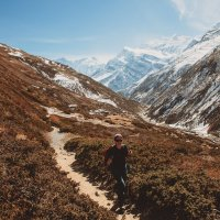 По дороге в Катманду. :: Виктор Бабинцев