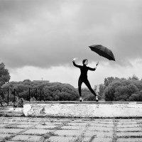 Фотосессия с зонтом 1 :: Дмитрий Печенкин