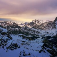 рассвет в горах :: Elena Wymann