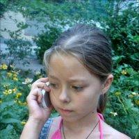 Настенька слушает маму :: Нина Корешкова