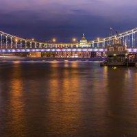Вечер на Москва реке :: Александр Колесников