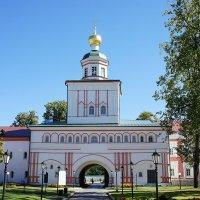 Надвратная церковь во имя архистратига Михаила 1683-85 г. :: Елена Павлова (Смолова)