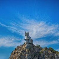 Ласточкино гнездо. :: Александр Тихонов