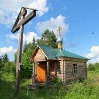 Поклонный Крест и часовня Святой Троицы :: Георгий Кашин