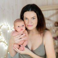 """Мама и малыш :: Первая Детская Фотостудия """"Арбат"""""""