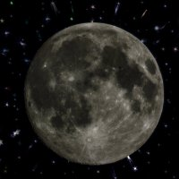 Фентези  или Лунный пейзаж :: Shmual Hava Retro