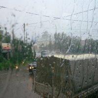 Сквозь пелену дождя. :: Oleg4618 Шутченко