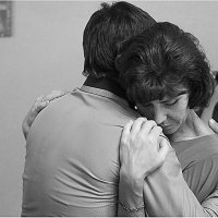 Мать и сын :: Герман Лазнев