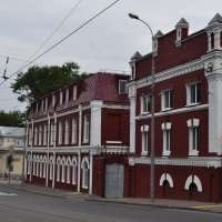 Старинные дома на ул. Радио.Москва :: Борис Александрович Яковлев