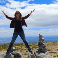 На высоте 2000 метров над уровнем Атлантического океана. Гора Серра да Естрела. :: Helga Olginha