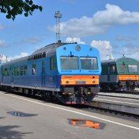 Автомотрисы АЧ2-050 и АЧ2-054 :: Денис Змеев