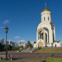 Парк Победы - Георгиевская церковь :: Евгений Иванов