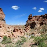 Чарынский каньон представляет собой пропасть глубиной более 200 метров. :: Anna Gornostayeva