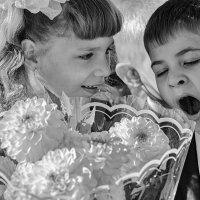 Первое школьное утро :: Роман Рыбальченко