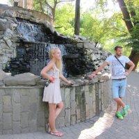 В парке Краснодара :: Людмила Монахова