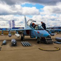 МАКС 2015. ЯК-130 :: Андрей Воробьев